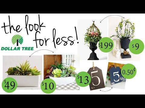 Dollar Tree Spring DIYs 2020 Look For Less Spring DIY 2020