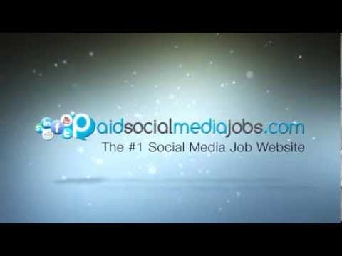 100% Paid Social Media Jobs That Works For Everyone