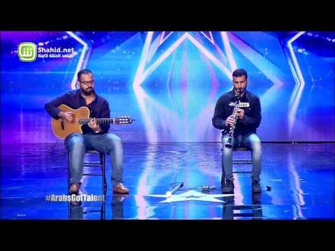 Arabs Got Talent - مرحلة تجارب الاداء - الكويت-البحرين– عبد اللطيف غازي ومحمد جباري