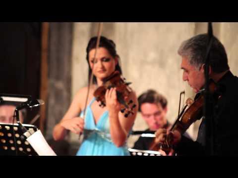 Vivaldi- Concerto for 2 Violins in B flat major, RV529  Lana Trotovsek, Sreten Krstic