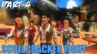 "Jack Keane 2 The Fire Within Walkthrough Part 4 ""Skullcracker Fight"" Gameplay Playthrough PC"