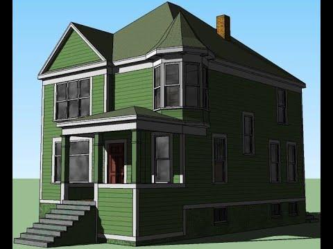 3D Warehouse Sketchup Model Edit