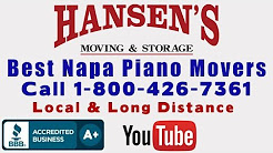 Best Napa Piano Movers  Napa Professional Movers Hansen's Piano Moving Napa