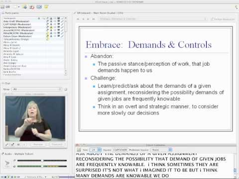 Introduction to Demand Control Schema by Robyn Dean