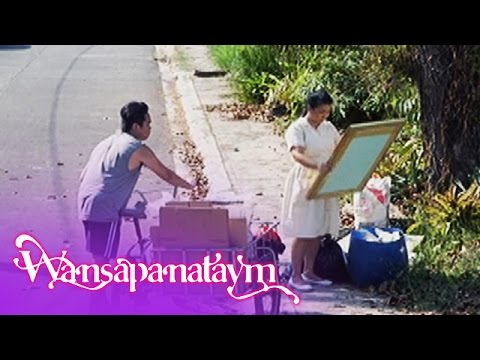 Wansapanataym: Julian's maid throws Annika's painting
