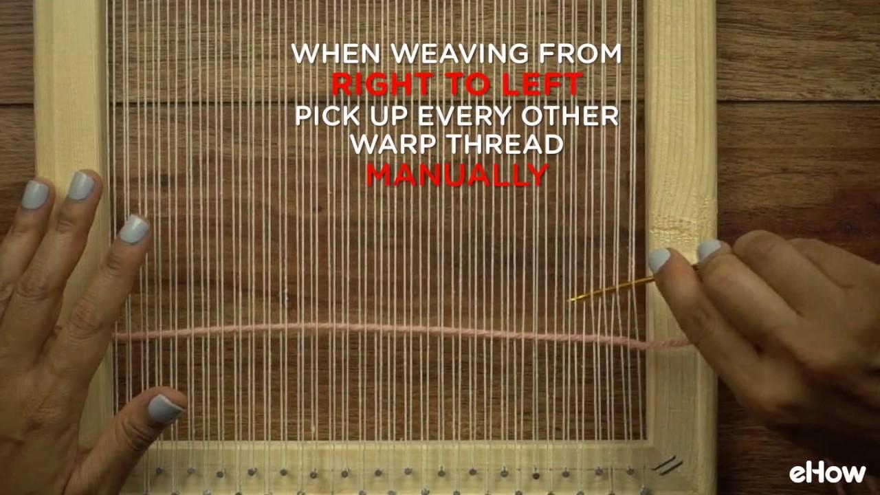 Diy Wooden Frame Weaving Loom Youtube