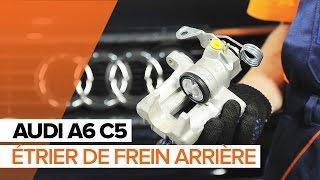 Comment et quand changer Étrier De Frein arrière + avant AUDI A6 Avant (4B5, C5) : vidéo tutoriel