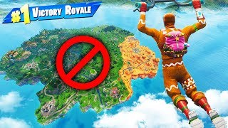 Can You WIN WITHOUT LANDING? in Fortnite Battle Royale thumbnail