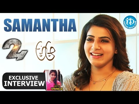Samantha Exclusive Interview || Talking Movies With iDream #165 || #AAaMovie