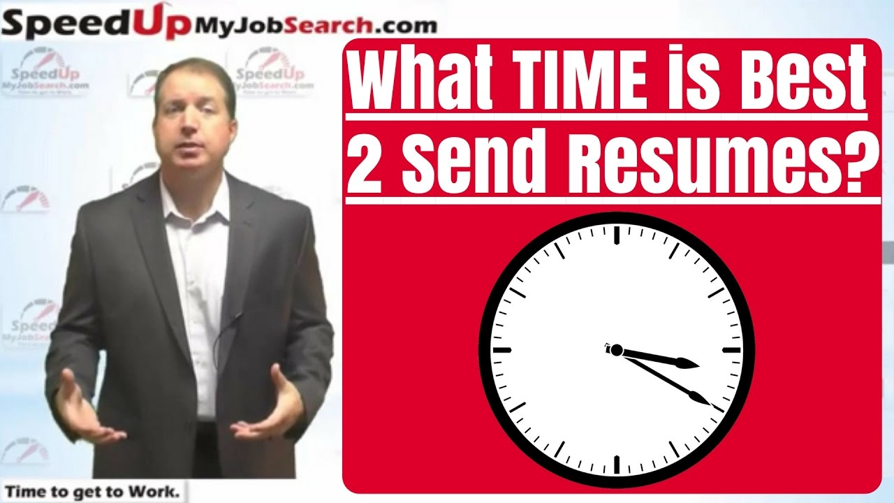 When is the Best Time of Day to Send Your Resume? - 3:59 - YouTube
