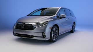 homepage tile video photo for 2022 Honda Odyssey: Exterior