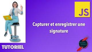 Miniature catégorie - Capturer et enregistrer une signature avec canvas
