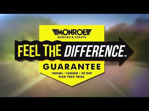 Monroe   Feel The Difference Guarantee