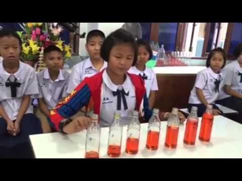 การทดลองวิทยาศาสตร์ ชั้น ป.5  โรงเรียนสุพรรณภูมิ  เรื่องเสียงและการได้ยิน
