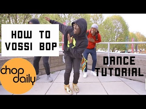 How To Vossi Bop (Dance Tutorial)   Chop Daily