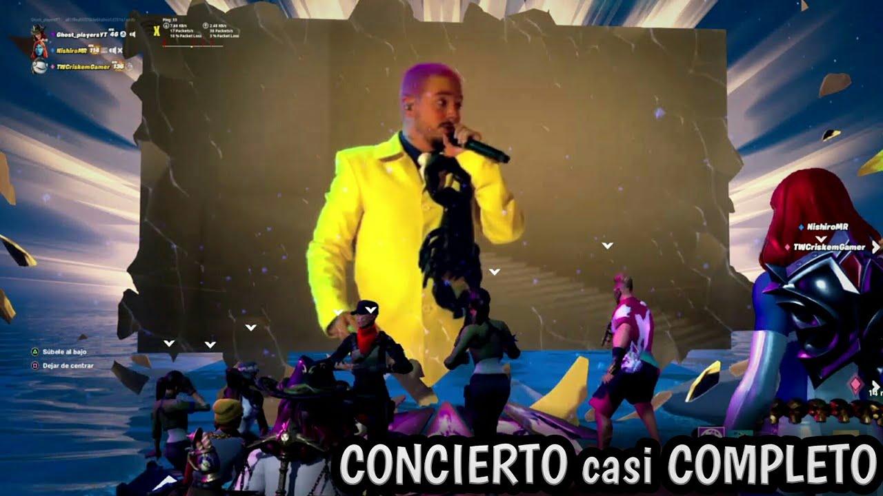 J Balvin ft Sech, Bad Bunny en fortnite concierto en vivo de #Halloween 31 de octubre de #2020