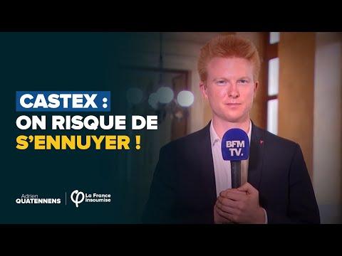 Castex : on risque de s'ennuyer ! | Adrien Quatennens