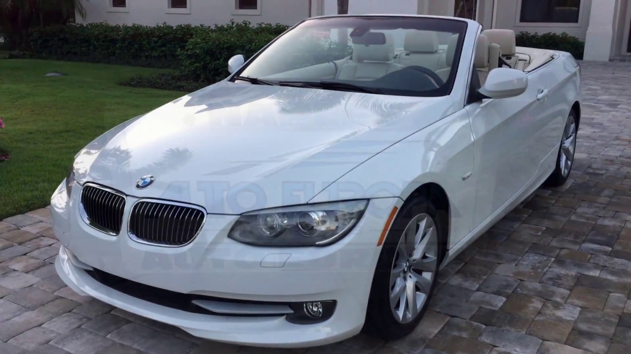 BMW 328I Convertible >> 2013 Bmw 328i Convertible For Sale By Auto Europa Naples