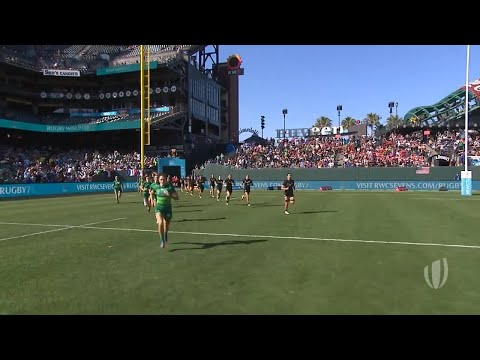 Highlights: Women's semi-finals confirmed at RWC 7s