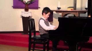 ピアノ発表会(年長 6歳 2009) (6years old, 2009)