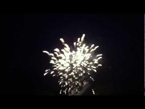 Canada Day Fireworks 2012- Markham, Milne Park