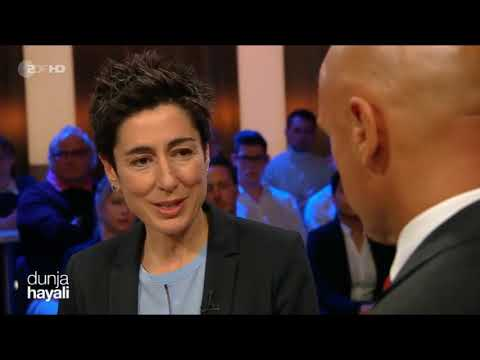 Dunja Hayali - ZDF - Clans - Integration - Multikulti - WerteUnion - Michael Mike Kuhr Security