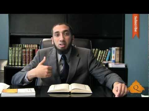 Sexual Desires - Nouman Ali Khan - Quran Weekly