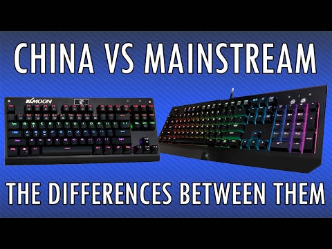 The Truth About Mechanical Keyboards - China VS Mainstream Brands