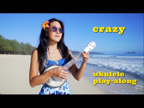 Crazy - Willie Nelson/Patsy Cline (ukulele Cover)    Cynthia Lin Play-Along