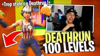 100 Levels DEATHRUN hyper stylé ! Le top des deathruns sur Fortnite Créatif