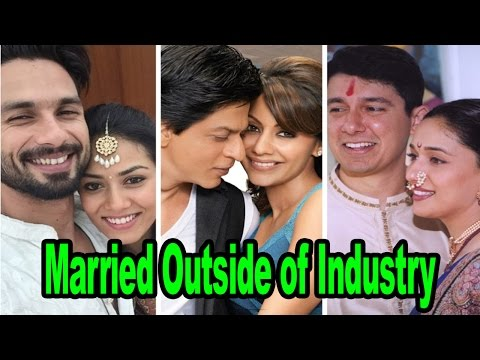 Top 10 Bollywood Actors Who Married Outside The Film Industry
