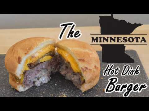 The Minnesota Hot Dish Burger