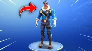SO I GET THE SKIN BOMBER IN FORTNITE...