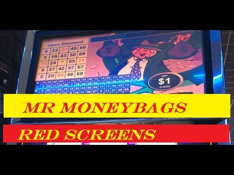Mr Money Bag  - VGT Live play, red screens - nice win