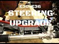 E30-BMW M3 STEERING RACK UPGRADE INSTALL