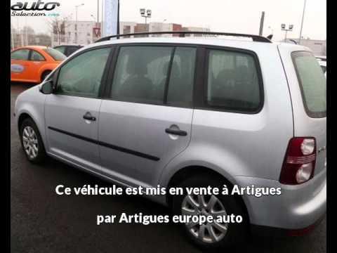Volkswagen Touran Occasion Visible à Artigues Présentée Par Artigues Europe Auto