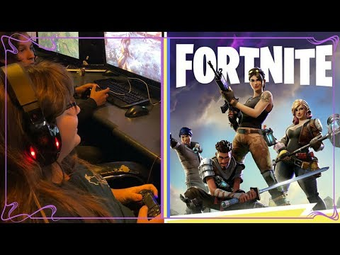 Daughter Competes in Fortnite Tournament! *Hosted by Chapter Andy*