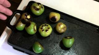 How to make Fresh Homemade Tomatillo Salsa