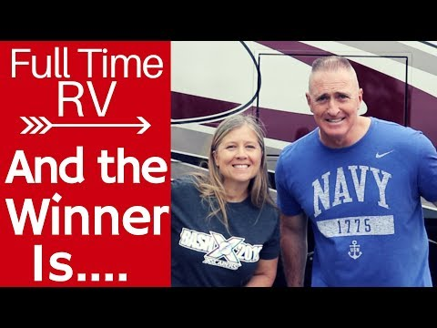 10K Giveaway Winners - Full Time RV - Thank You To All Our Subscribers