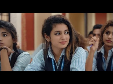 Priya Prakash New Music Video_ Cutes Girls Ever😍 National crash