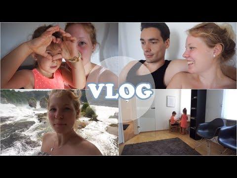wieder zum Notfallarzt  Milena vloggt  Rheinfall  Familienvlog
