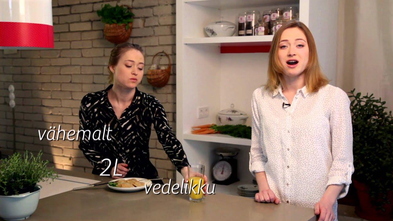 JOO VÄHEMALT 2 LIITRIT VETT!