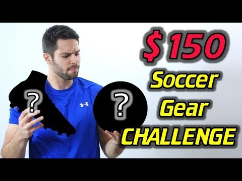 $150 Soccer Gear CHALLENGE! - What's In My Soccer Bag Budget Edition