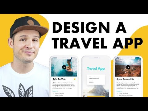 Design A Travel App UI | UI Design In Sketch
