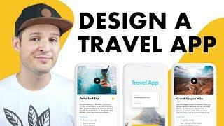 Design A Travel App UI UI Design In Sketch