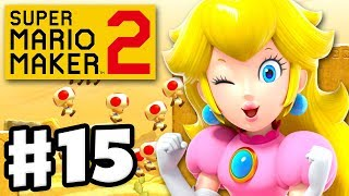 Super Mario Maker 2 - Gameplay Walkthrough Part 15 - Peach's Jobs! (Nintendo Switch)