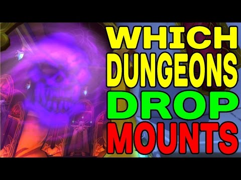 World Of Warcraft: Which Dungeons Drop MOUNTS !!??