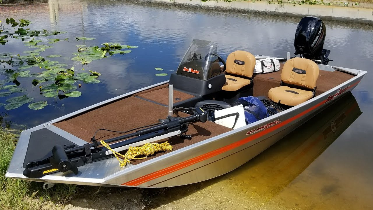 2018 TRACKER BASS TRACKER Heritage w/ 40 ELPT FourStroke and Trailer first  launch review