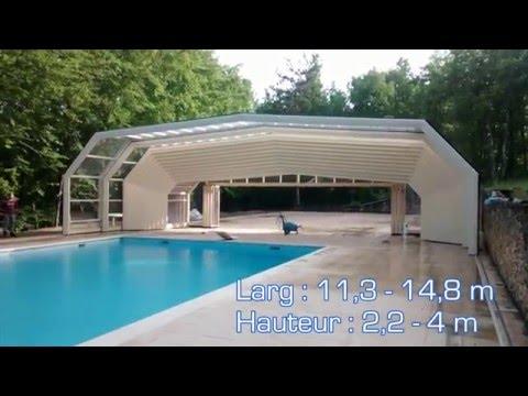 motorisation abri piscine xxl clicroll sm260c youtube. Black Bedroom Furniture Sets. Home Design Ideas