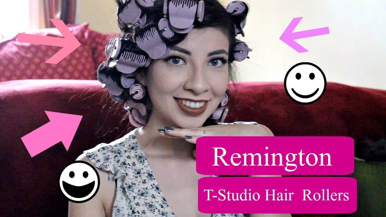Remington T Studio Ceramic Hot Rollers